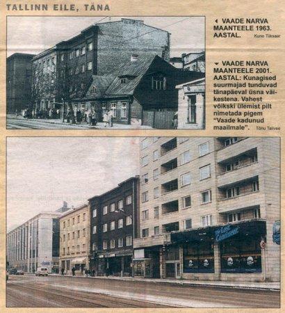 1963 и 201 год. - Путешествуем по Эстонии