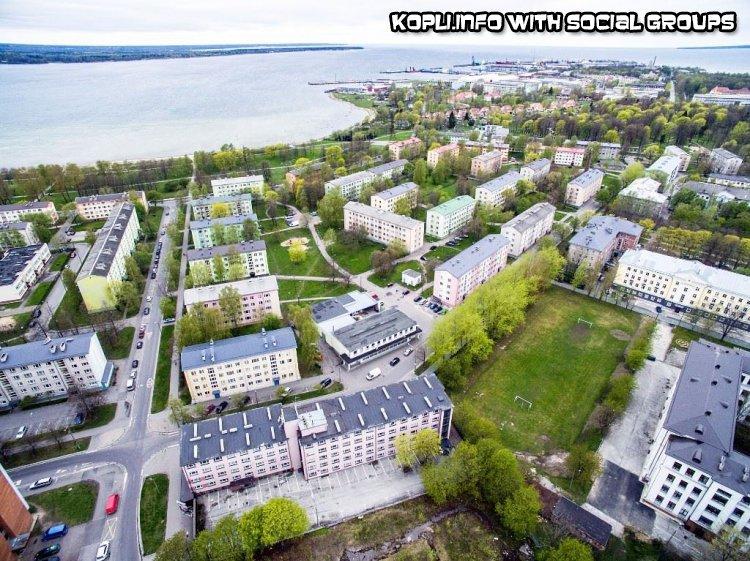 Вид района с высоты - Путешествуем по Эстонии