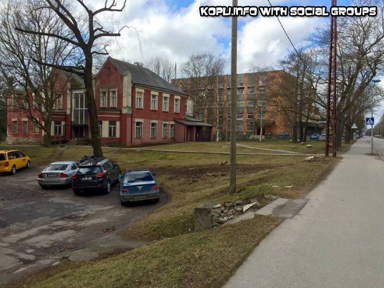 Кто помнит ?Что за красное здание? - Путешествуем по Эстонии