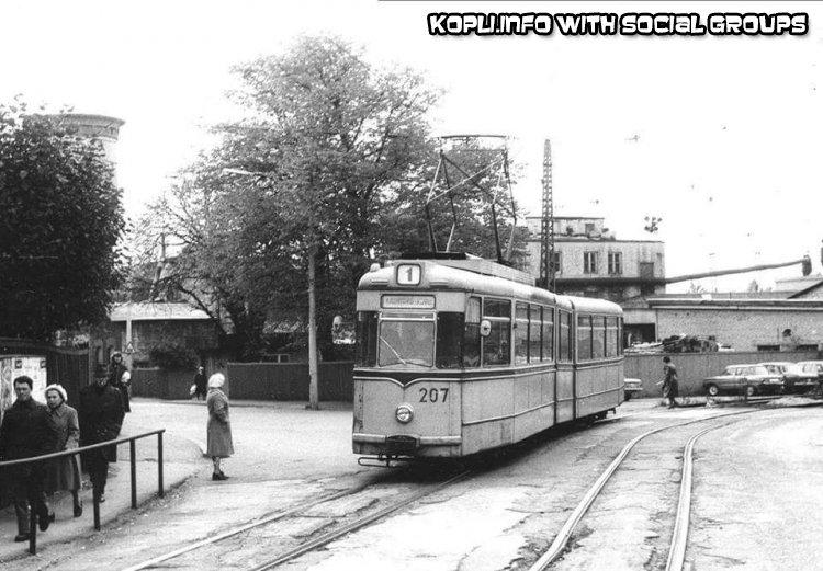 Трамвай в сторону вокзала - Путешествуем по Эстонии