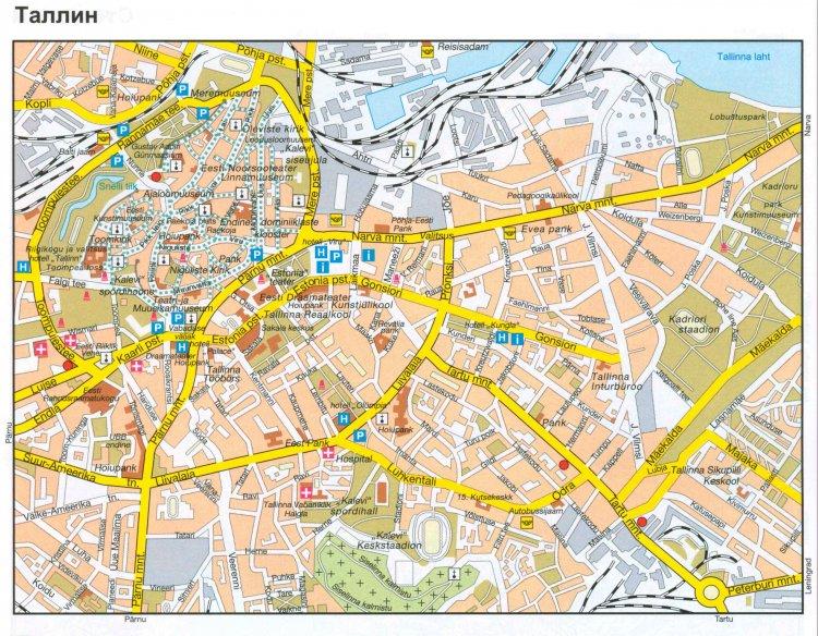 Эстония. Описание достопримечательности Таллинна - Путешествуем по Эстонии