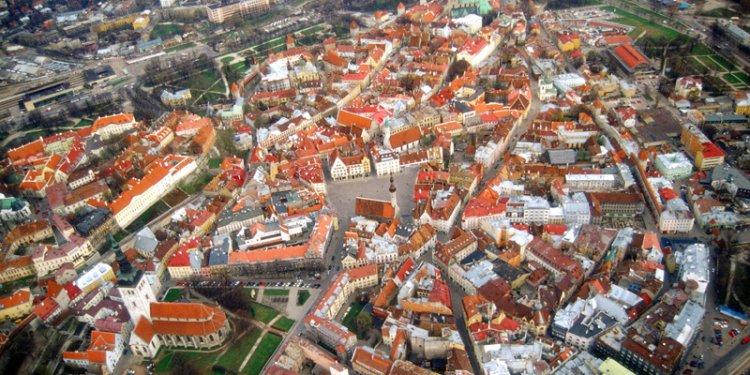 Таллин – столица Эстонии - Путешествуем по Эстонии