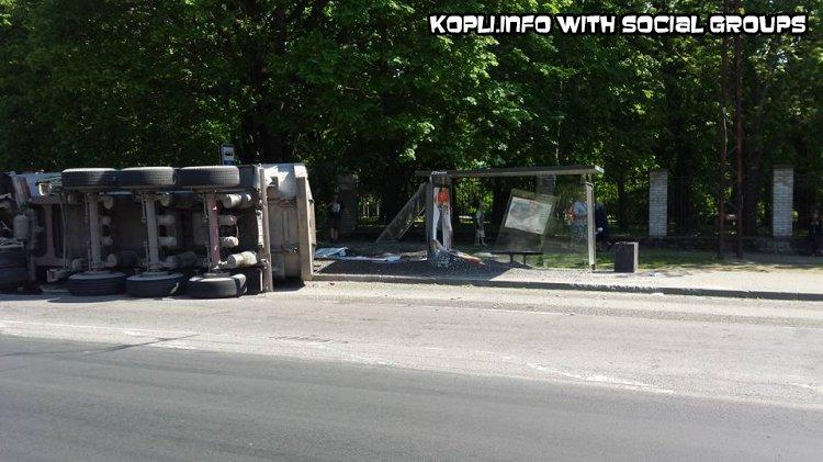 Авария на остановке сирби - Путешествуем по Эстонии