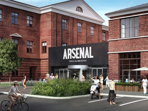 В таллинском районе Копли в 2016 году появится новый торгово-деловой центр 'Арсенал' - Путешествуем по Эстонии