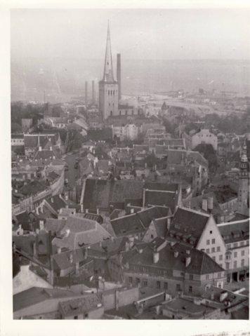 Вид на Олевисте с Нигулисте 1970-е годы - Путешествуем по Эстонии
