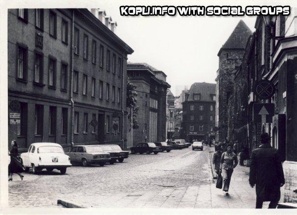 ул Мююривахе в 1980-е годы - Путешествуем по Эстонии