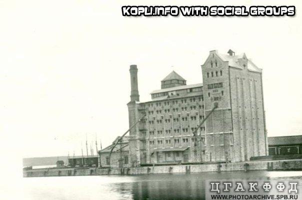 Элеватор в порту разбомбили в 1944+Вокзал и мастерские - Путешествуем по Эстонии
