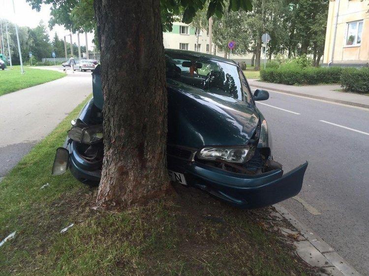 В Пыхья-Таллинне водитель в состоянии наркотического опьянения врезался в дерево - Путешествуем по Эстонии