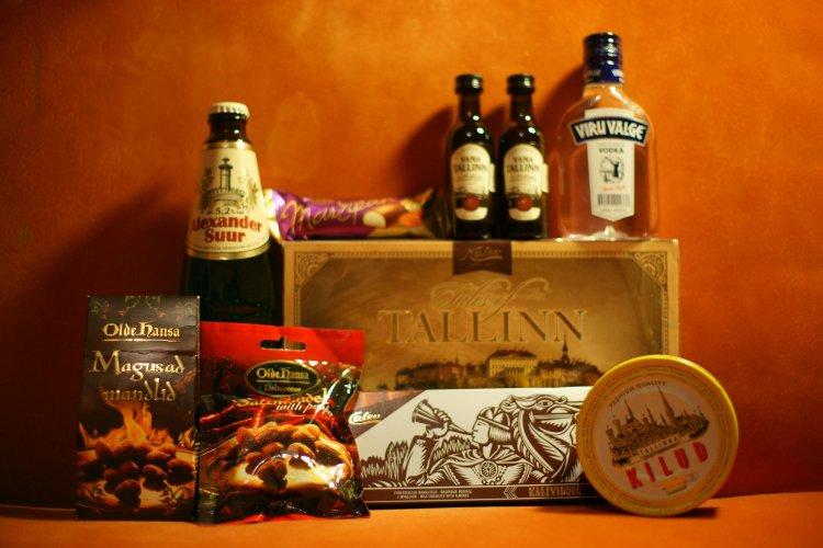 Что привезти из Таллина в подарок Сладости - Путешествуем по Эстонии