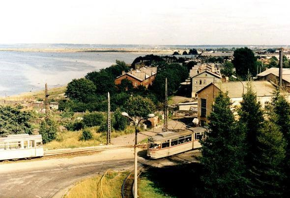 Старый снимок конечки трамваев Kopli - Путешествуем по Эстонии